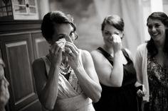 tears of joy, photo of the bride by Jonathan Scott of JSP Studio, Florida wedding photographer | via junebugweddings.com