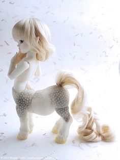 Extra/Details:   You guys I totally want a teenie Centaur now solely for their customization possibilities, pft. ; U ;  [SOOM MD Centuroid Aloa]
