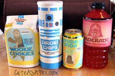 star wars snacks....
