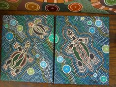 My version, Aboriginal turtles