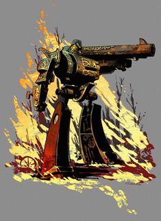 Steampunk Megatron /// by Brian Kesinger