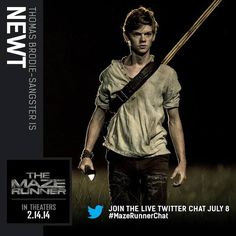 The Maze Runner... this casting choice makes me love Newt even more!!