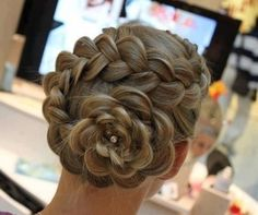 braid braid braid braid, cute! french braids, long hair, bridal hairstyles, wedding hairs, braid hairstyles, braided hairstyles, updo, flower girls, flower hair