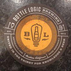 Bottle Logic Brewing brew logo, bottl logic