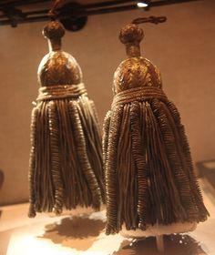 Tassels from Abraham Lincoln catafalque - Abraham Lincoln Assassination Museum - Peterson House - 2012-05-20 by dctim1, via Flickr
