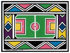 'For the First Time in Africa', esther mahlangu, 2009