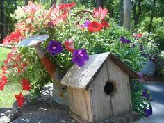The Country Nest: Visit my garden in A Primitive Place