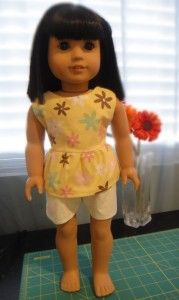 Free Sewing Pattern for 18 Inch Dolls - blog for American girl doll clothes My mom was talking about these today.