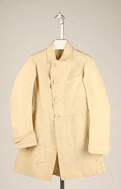 Gentleman's Frock Coat, 1830-1849