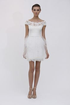 """The """"Alana"""" gown by Marchesa has so much style and personality!"""