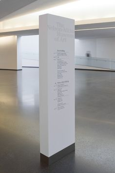 Nelson-Atkins Museum of Art Signage BNIM