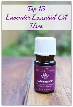 Top 15 Lavender Essential Oil Uses + GIVEAWAY! - Healy Eats Real #essentialoils #lavender #natural #diy