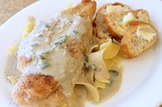 *Riches to Rags* by Dori: Caramelized Chicken with Jalapeno Cream Sauce