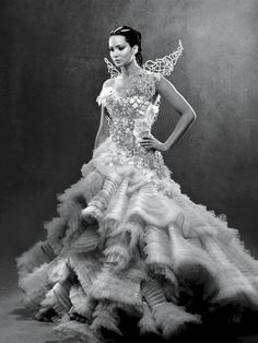 Katniss - Vanity Fair