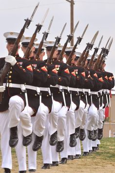The United States Marine Corps Silent Drill Platoon represents the epitome of Marine Corps discipline, dedication and skill.