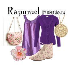 fashion, cloth, disney outfit, the dress, disney bound outfits rapunzel, disneybound, disney based outfits, disney inspir, shoe