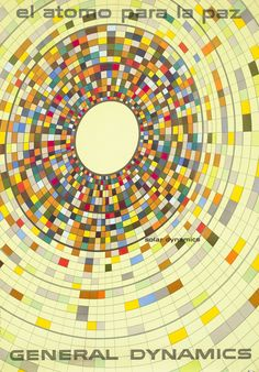 Erik Nitsche Poster: General Dynamics - Solar Dynamics