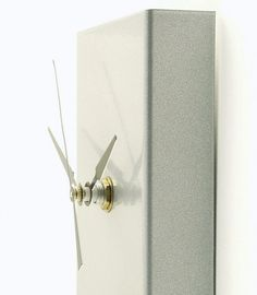 **This pin is now closed - a winner has been selected for this round* Slim modern metal wall clock