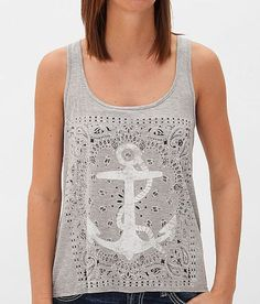 Living Doll Heathered Tank Top