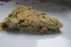 Crustless Vegan Spinach Quiche