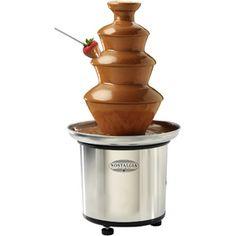Chocolate fountain, yum
