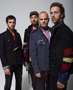 Coldplay. My favorite band of all time. Their music is beautiful and I connect with each song in a new way. Amazing!