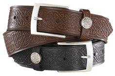Celtic Knotwork Belt with Buckle