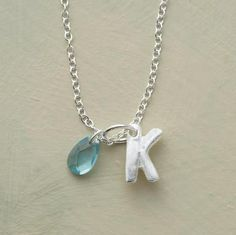 Initial Necklace and On Sale!