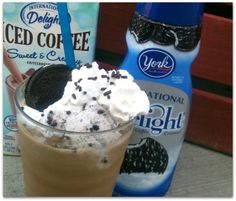 simple candy bar and cookies iced coffee recipe