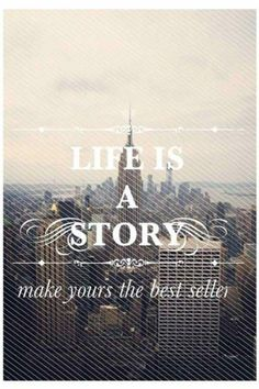 Life is a story. Make yours a best seller. #travelquotes #travel #quotes #budgettravel