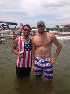 Ryan Kesler on the 4th of July, god bless America!