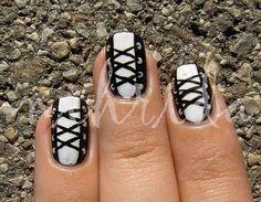 corset nail, nail patterns, corsets, designer handbags, nail designs, nail arts, nail ideas, designer bags, designer nails