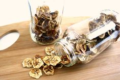 Banana Chips in glas