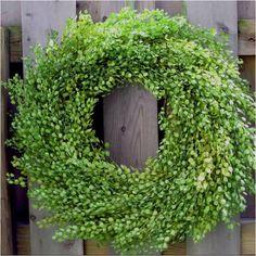 Summer wreath...delightful !