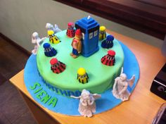 Doctor Who Cake « Ocd Kitchen