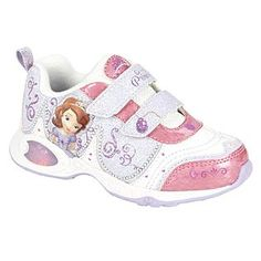 I cannot believe they make this.  It would be the only one Baby would wear... Disney Girl's Sneaker-white-Sofia the First