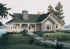 lake house plans   Cottage House Plans to Find a Small Cozy Country Cottage