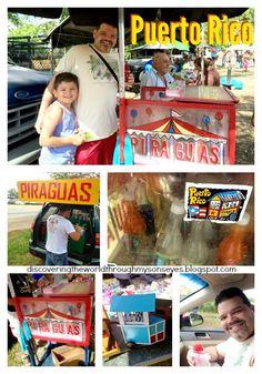 Puerto Rico Piragua {Icy Sweet Treat}