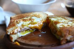 Egg-in-a-Hole Grilled Cheese