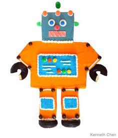 Robot cake.