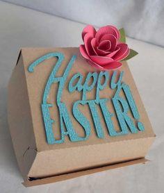 Shoebox Crafts : DIY Easter Box Silhouette