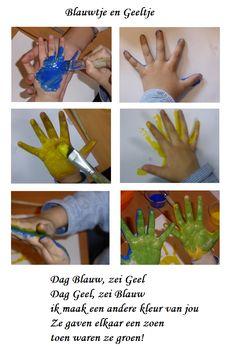 Thema uitwerking bij Blauwtje en Geeltje - Digibord Onderbouw