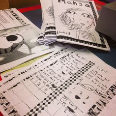 mamascout: {writer's lab} zine making with kids kid