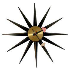 George Nelson Sunburst Clock 2202