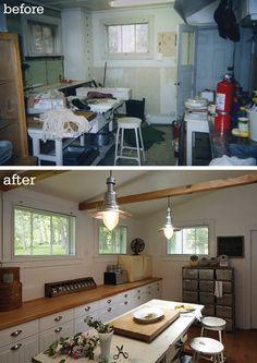 inexpensive kitchen redo.