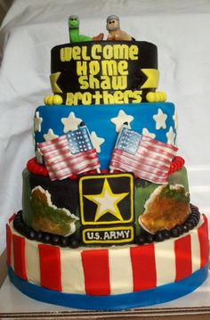 Welcome Home cake By jessim on CakeCentral.com