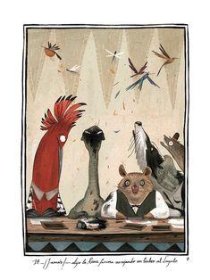 ilustracion, alice in wonderland, júlia sardà, illustr