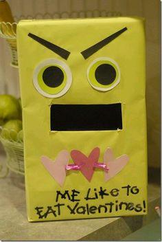 Cute little valentine holder