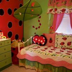 to talk lorelai into a ladybug bedroom little girls ladybug bedroom