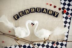 February dreamy calendar photograph whimsical art by GoldenSection